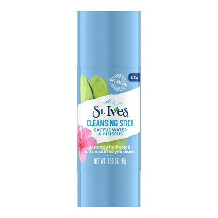 St. Ives Cleansing Stick Cactus Water & Hibiscus 1.6