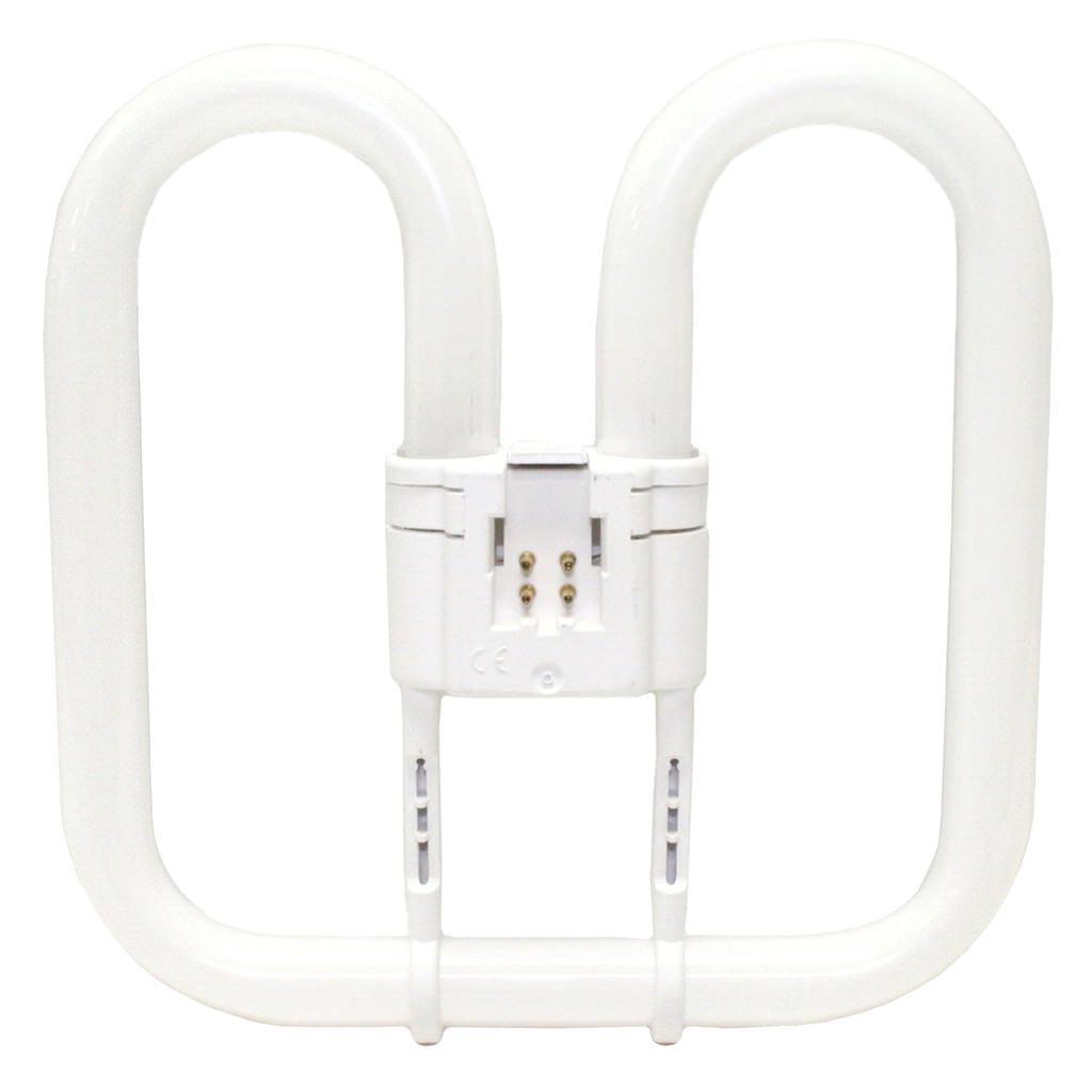 GE 40184 - F552D/830/4P/CD 2D 4 Pin Base Compact Flourescent Light Bulb