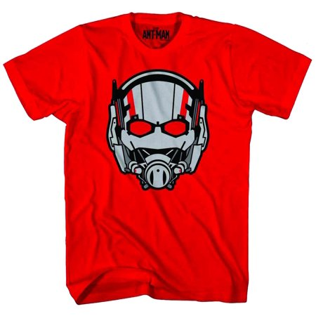 Marvel Ant-Man Ant Head Mens Red T-Shirt | - H&m Halloween Mens