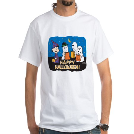 CafePress - The Peanuts Gang Happy Halloween White T Shirt - Men's Classic T-Shirts](Peanuts Happy Halloween)
