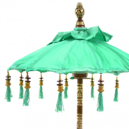 Koyal wholesale bali umbrella stand diamond blue 34 inch for Bali home decorations wholesale