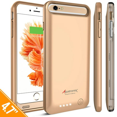 Alpatronix BX140 3100mAh iPhone 6S / 6 Portable Battery Case