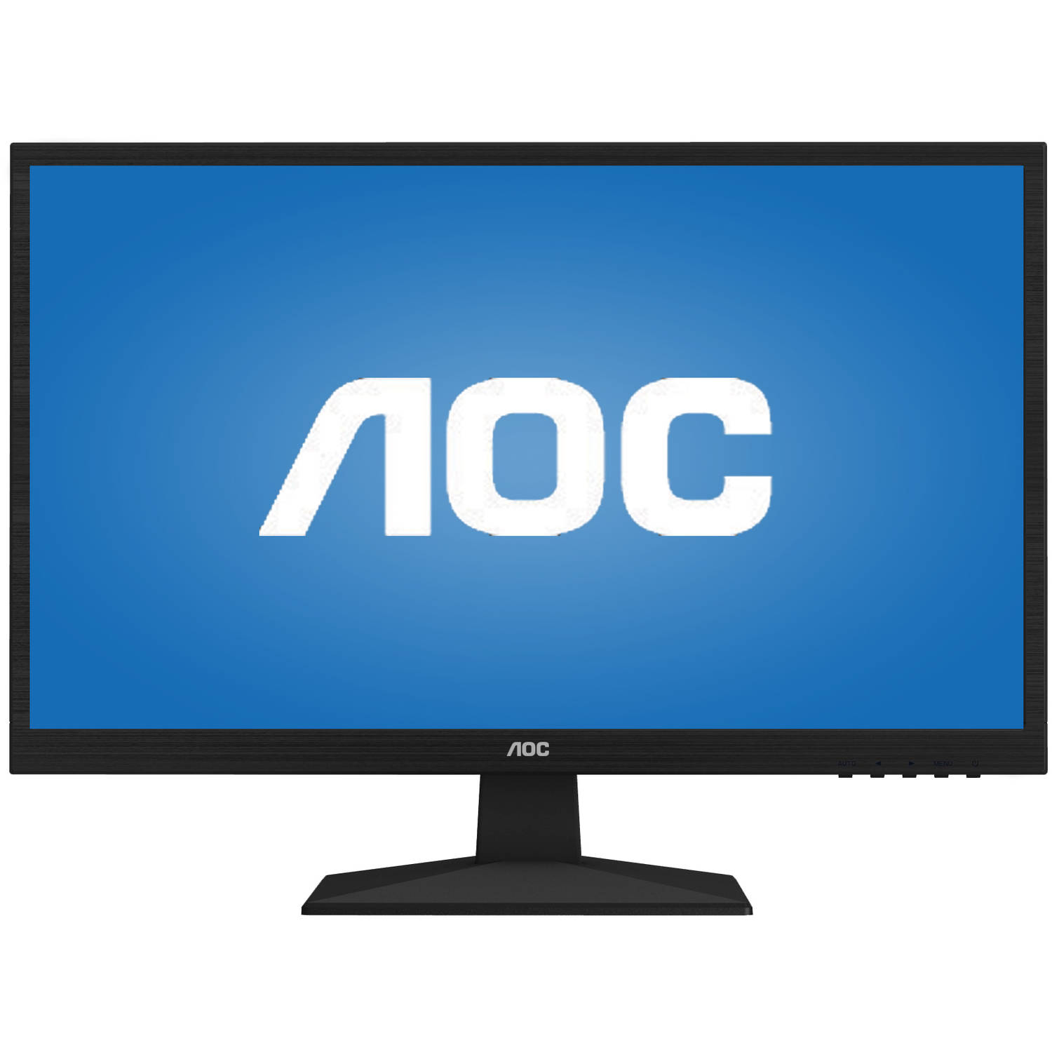 "AOC 24"" LED HD Monitor - Black"