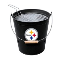 Pittsburgh Steelers Imperial Bucket Grill - Black - No Size