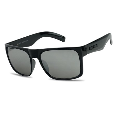 Classic Black OG Flat Top Squared Color Reflective KUSH Shades for