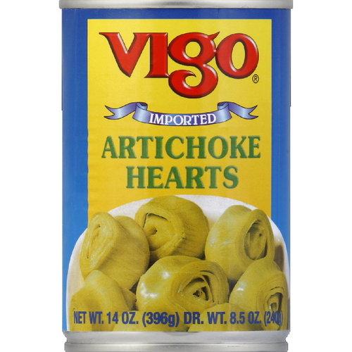 Vigo Artichoke Hearts, 14 oz (Pack of 12)