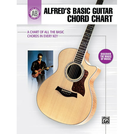Alfred's Basic Guitar Library: Alfred's Basic Guitar Chord Chart: A Chart of All the Basic Chords in Every Key (Other)