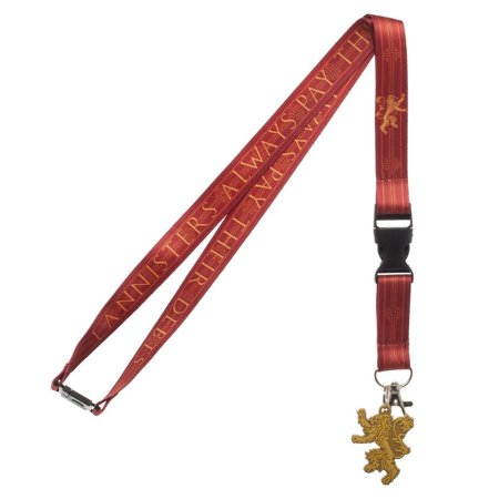 Lanyard - Game of Throne House - Lannister New la70lcgth - image 1 de 1