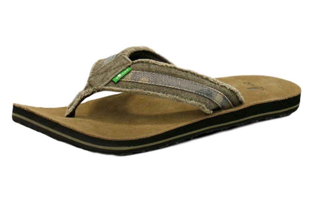 c4459911f78ee Sanuk - Sanuk Men's Fraid So Flip Flop,Camo,12 M US - Walmart.com