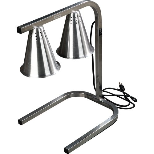 Carlisle Food Service Products Standing 2 Bulb Free Adjustable Heat Lamp