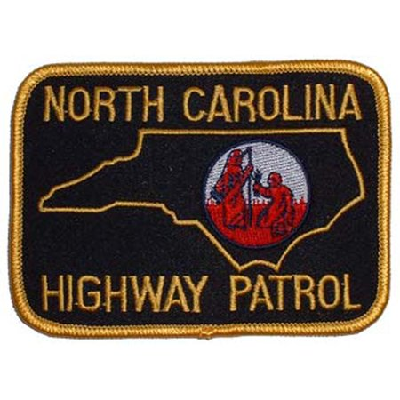 North Carolina Highway Patrol Patch - South Carolina Applique