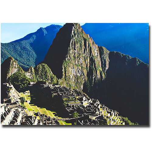 "Trademark Fine Art ""Machu Picchu"" Canvas Wall Art by Ariane Moshayedi"