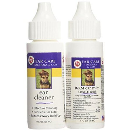 Miracle Care R7M Ear Mite Treatment Kit for Cats 1