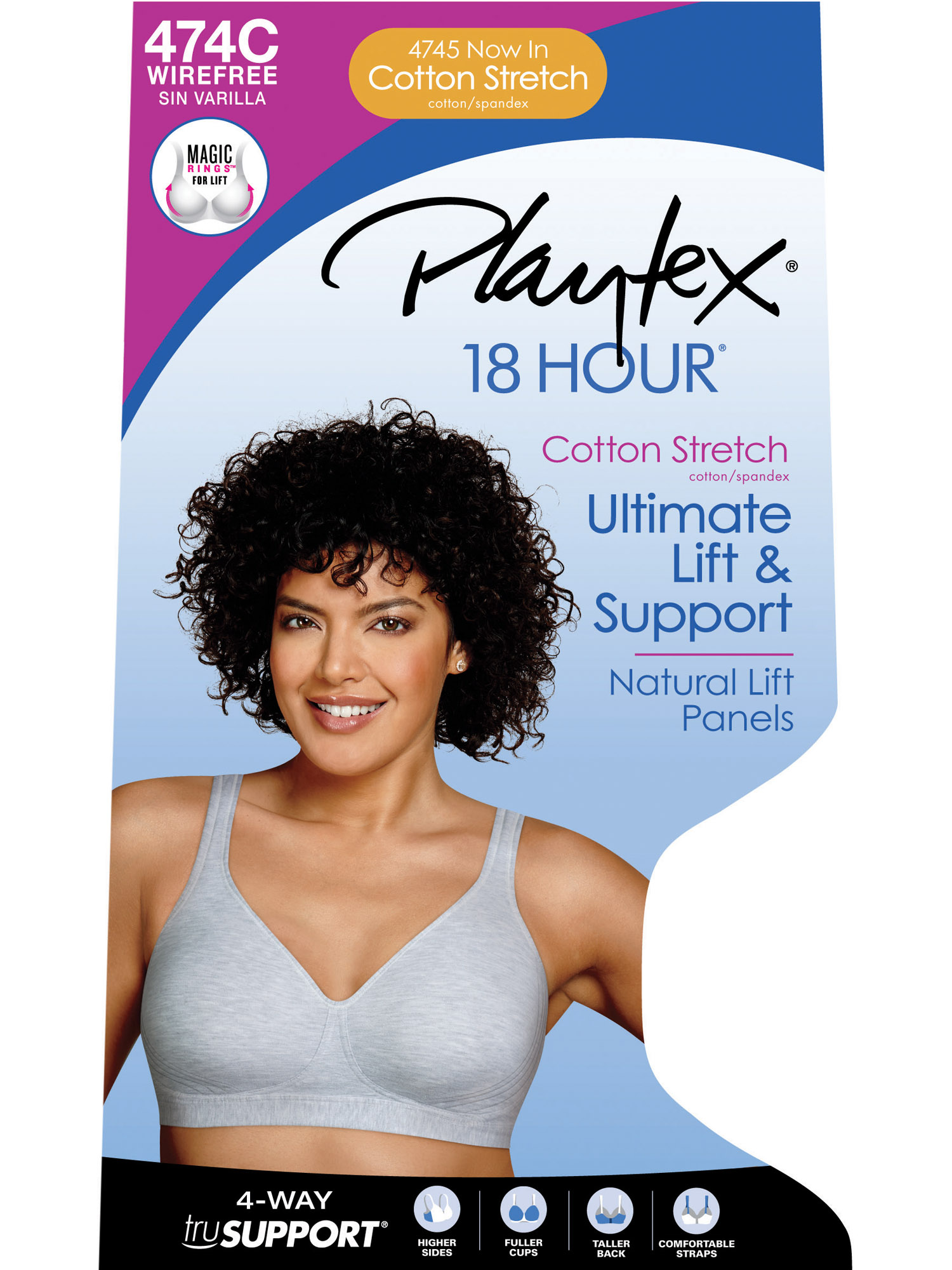 76ecefc4e4 Womens 18 Hour Ultimate Lift   Support Bra with Comfy Cotton Stretch with  Cool Comfort