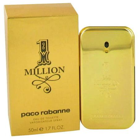 1 Million by Paco Rabanne Eau De Toilette Spray 1.7 oz