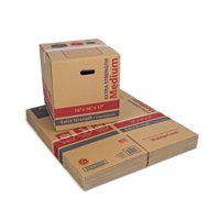 Medium Extra Strength Recycled Moving Boxes 16L x 16W x 17H