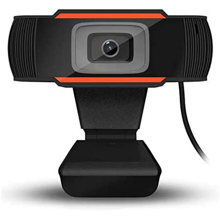 HD Webcam  Streaming Web Camera with Dual Microphones, Webcam for Gaming Conferencing & Working, Laptop or Desktop Webcam, USB Computer Camera for Mac Xbox YouTube Skype OBS, Free-Driver Installa Streaming Web Cameras