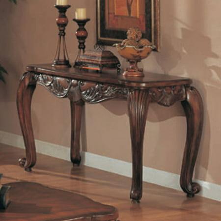 Coaster Furniture Dark Brown Sofa Table