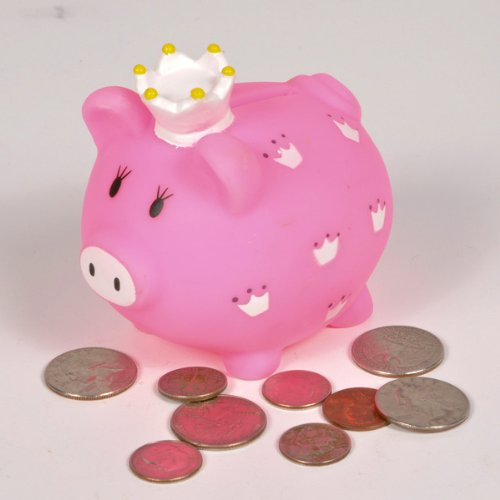 3.5''Little Princess Piggy Bank Case Pack 24 3.5''Little Princess Piggy Bank Case Pack 24 by