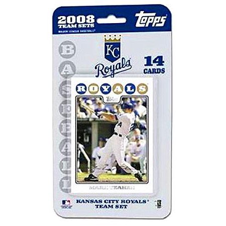 MLB 2008 Topps Baseball Cards Kansas City Royals Team - Kansas City Royals Team Card
