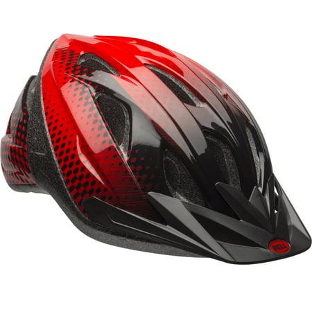 Bell Sports Surge Adult Bike Helmet, Red/Black