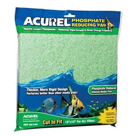 Phosphate Filter Pad - Phosphate Reducing Media Pad, 10-Inch by 18-Inch, Quickly lowers phosphate levels By Acurel LLC