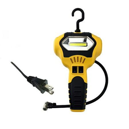 Handheld Air Compressor Portable & Heavy Duty Design w/ LED Working