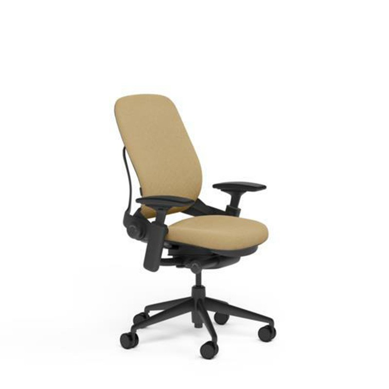 Steelcase Leap Desk Chair in Buzz2 Barley Fabric - Highly...