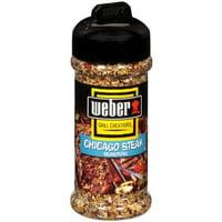 (2 Pack) Weber Chicago Steak Seasoning Rub 5.5 oz.