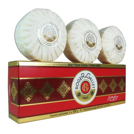 Roger & Gallet Jean Marie Farina Perf. Soap 3x 100 g