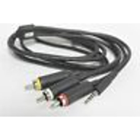 OEM Motorola SKN6261A 3.5mm Jack Stereo Audio / Video / RCA Cell Phone Cable Portable Audio Video Cell Phone
