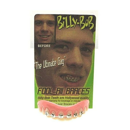 Billy Bob Braces Teeth Ugly Betty Novelty April Fools Gag Joke …