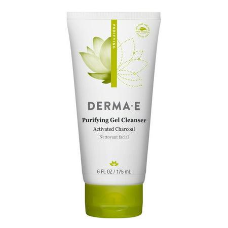 Essential Oils Gel Cleanser - Derma E Purifying Gel Cleanser, 6 Fl Oz