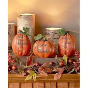 3 inspirational Pumpkins Table