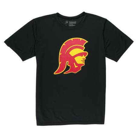 NCAA USC Trojans Big Men's Tommy Streak Short Sleeve Performance Tee Shirt, - Usc Trojans Mini Football Helmet