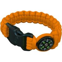 Ultimate Survival Technologies Compass Bracelet, Orange
