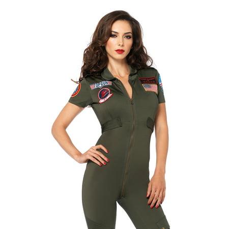 Adult Top Gun Costume (Leg Avenue Women's Top Gun Flight)