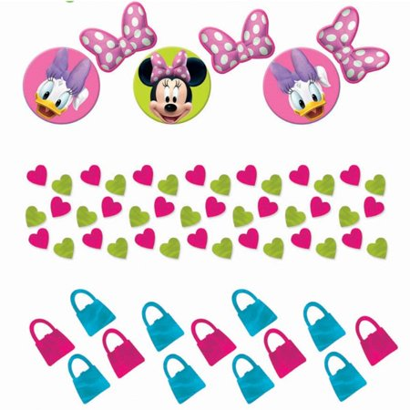 Minnie Mouse 'Bow-Tique' Confetti Value Pack (3 types)](Minnie Mouse Confetti)