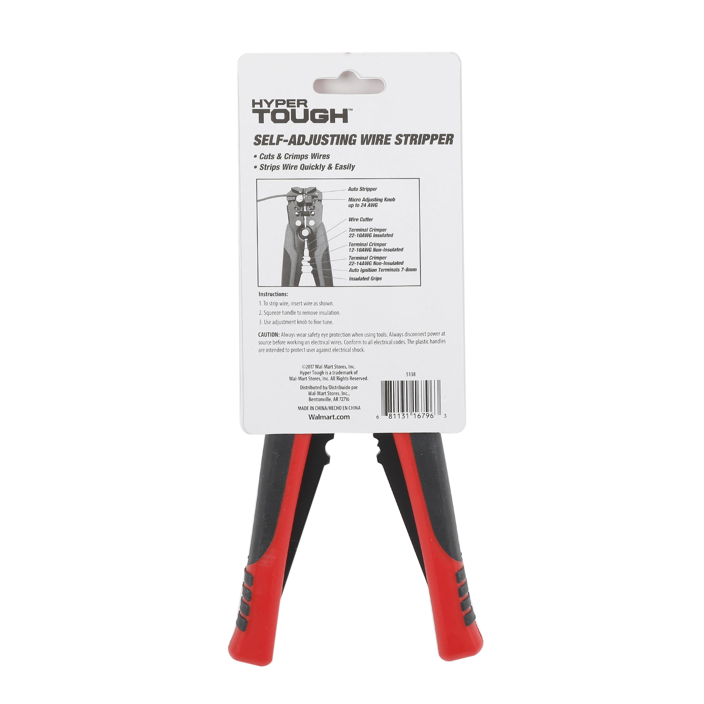 Hyper Tough Self adjusting wire stripper - Walmart.com