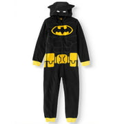 Lego Batman Hooded Costume Union Suit Pajama (Big Boy & Little Boy)