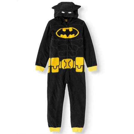 Lego Batman Hooded Costume Union Suit Pajama (Big Boy & Little Boy)