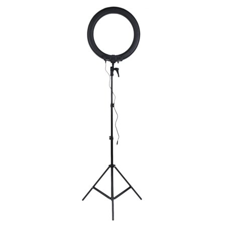 CNMODLE 7Feet Height Adjustable LED Studio Ring Light Bracket Tripod Light Stand Professional Photographic Video Light Holder - Light Rings