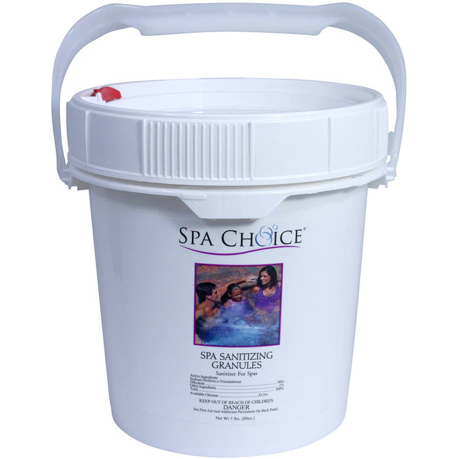 Spa Choice Chlorine Granules for Spas and Hot Tubs