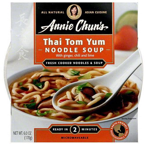 Annie Chun's Thai Tom Yum Soup Bowl, 6 oz (Pack of 6)