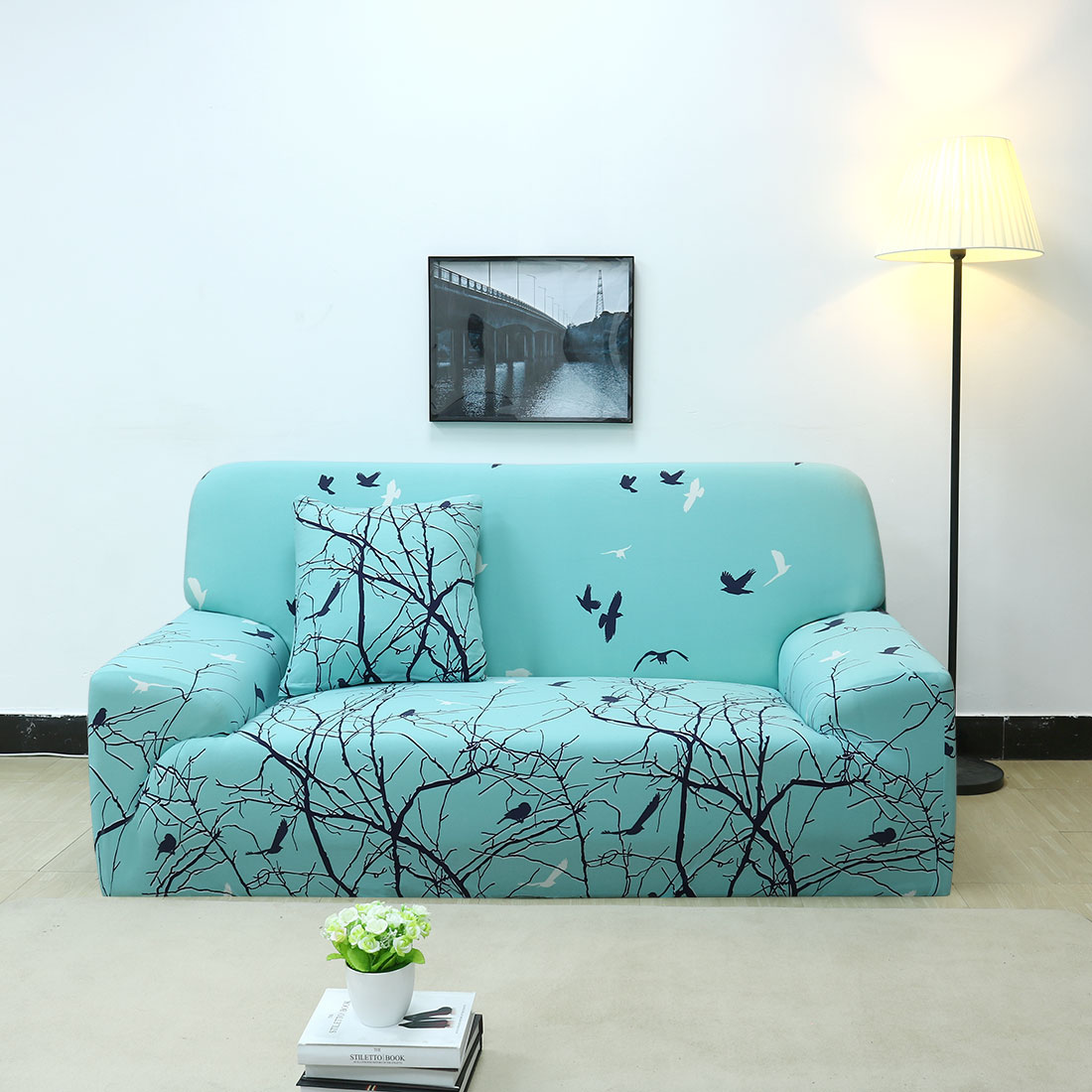 Chair Sofa Couch Covers Full Cover Slipcover Universal 8