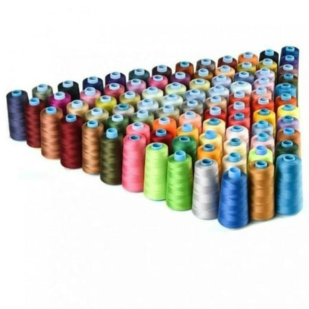 New 30 Spools Mixed Colors 100% Polyester Sewing Quilting Threads All Purpose DIY King Tut Quilting Thread