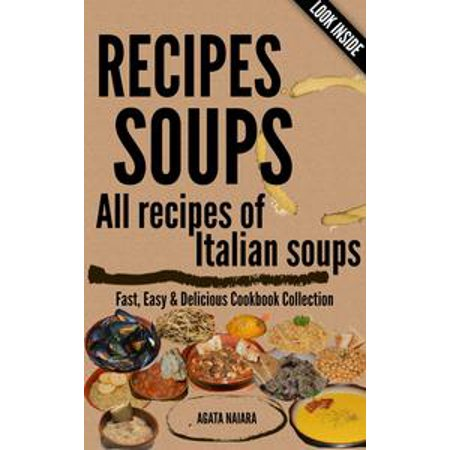 RECIPES SOUPS - All recipes of Italian soups: So many ideas and recipes for preparing tasty soups. - - Easy And Fast Halloween Costumes Ideas
