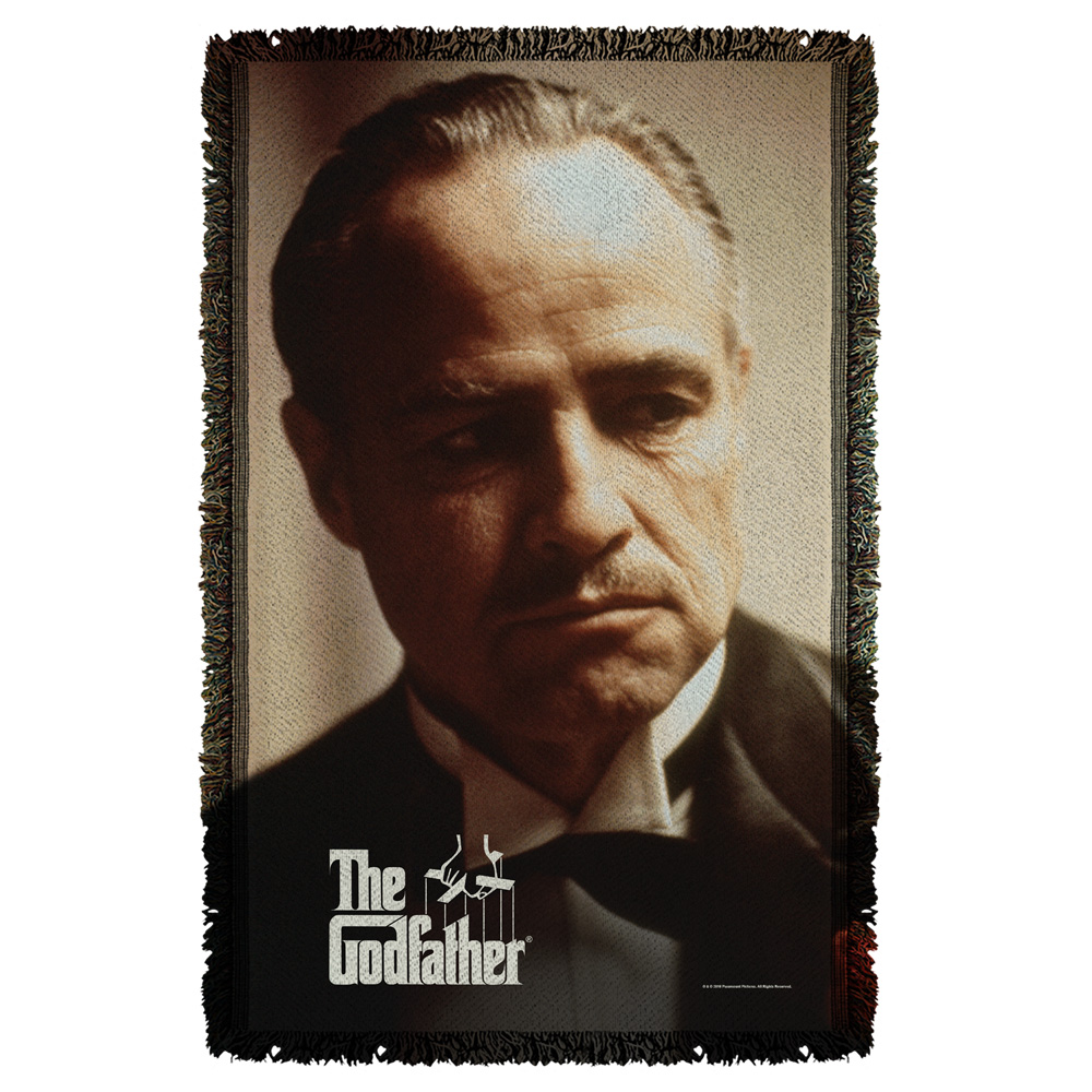 Godfather Vito Woven Throw White One Size