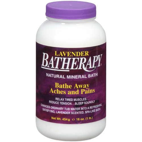 Queen Helene Batherapy Bath Salts, Lavender Aromatherapy, 20 Oz