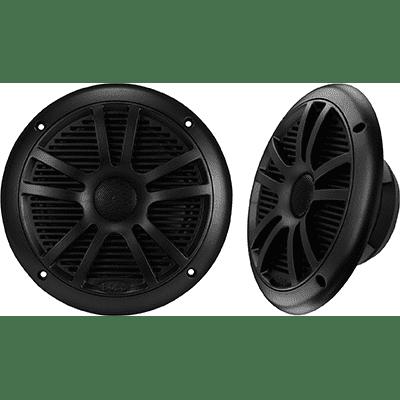 "Boss Audio MR6B Speakers, 6.5"" 2-Cone, 180 Watt, Black"